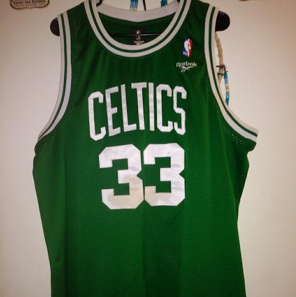 on sale c7449 f5d18 Celtic's Larry bird shirt 1985-1986